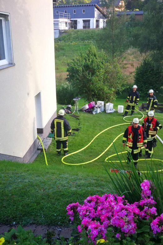 Kellerbrand – Nachbarn verhindern schlimmeres - Freiwillige Feuerwehr Wenden
