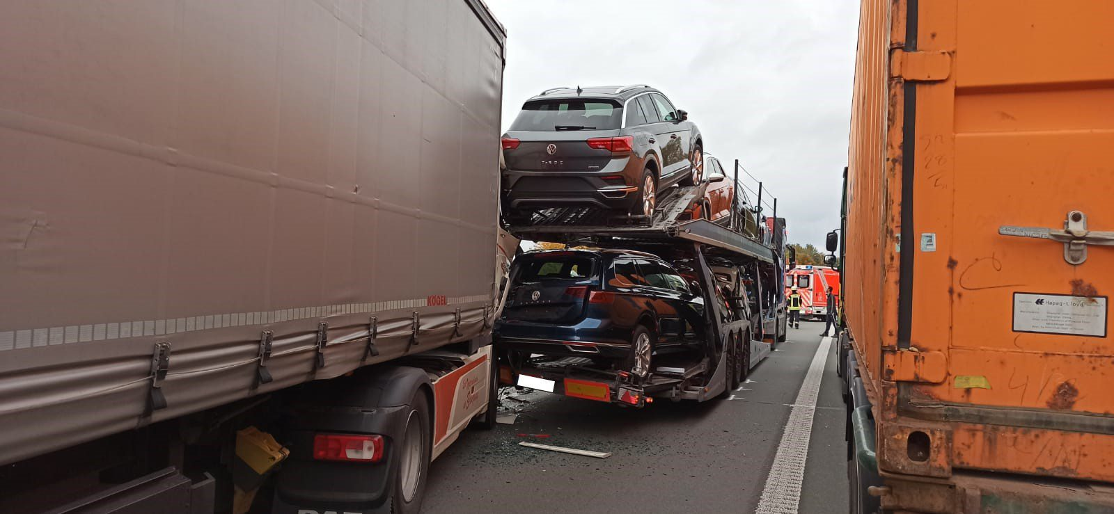 Verkehrsunfall Frankfurt