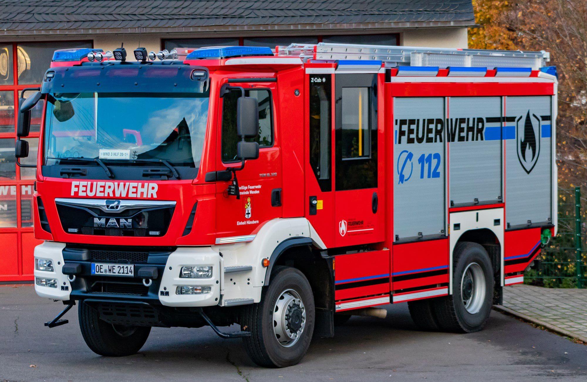 Neues HLF 20 für Einheit Hünsborn